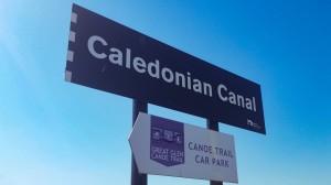 Szkocja Kanał Kaledoński